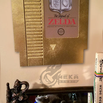 Nintendo Cartridge 3D Wall Art