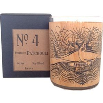 Patchouli Wood Candle No. 4