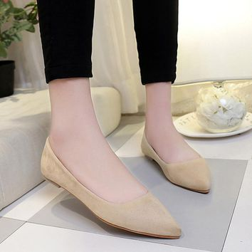 Women Flats Fashion Casual Women Shoes Ballet Flats Slip On Flat Shoes Women Ballerina Flats