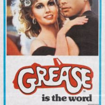 Grease Movie Poster Insert Size 14x36 24inx36in