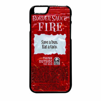 Taco Bell Packet Fire iPhone 6 Plus Case