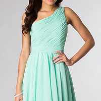Short One Shoulder Dress