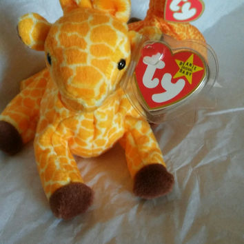 Twigs Ty Beanie Baby Rare Edition made with PVC pellets Mint