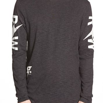 Men's G-Star Raw 'Tomeo' Graphic Long Sleeve T-Shirt,