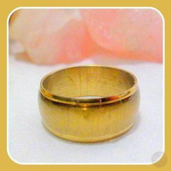 Protection Yellow Cat's Eye Ring