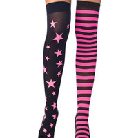 Stars and Strips - Pink