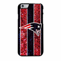 england patriots nfl logo glitter case for iphone 6 plus 6s plus