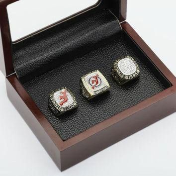 DCCK8X2 Replica One set (3PCS) NHL 1995,2000 And 2003 NEW JERSEY DEVILS STANLEY CUP Champions