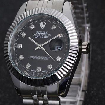 G Rolex men and women fashion tide brand fashion watch F-PS-XSDZBSH Black dial