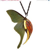 ON SALE  15 OFF  Statement Necklace  Stunning Blade by HaremRoyal