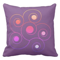 Amazing flower throw pillow