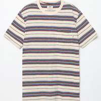 Vans Breman Marshmallow Striped Pocket T-Shirt at PacSun.com