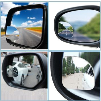 2Pcs Universal Car Styling Auto Rear View Mirror.