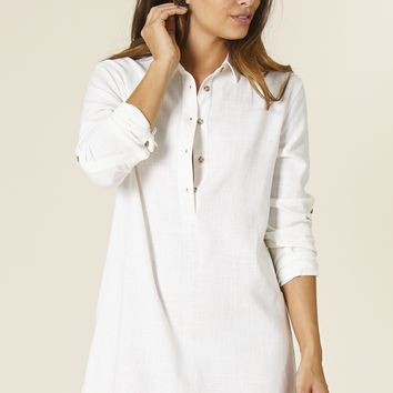 Rhythm - Laguna Dress | Ivory