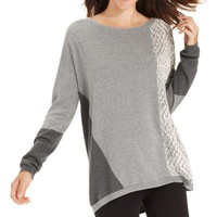 DKNY Womens Cotton Knit Pullover Sweater