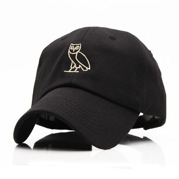 High Quality Outdoor Visor black Strapback OVO Drake Hotline Bling hats 6 panel snapba