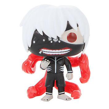 Funko Tokyo Ghoul Pop! Glow-In-The-Dark Ken Kaneki Vinyl Figure Hot Topic Exclusive