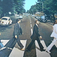 The Beatles - Abbey Road- Japanese issue-vinyl record
