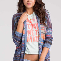Billabong - Outside The Lines Cardigan | Chambray
