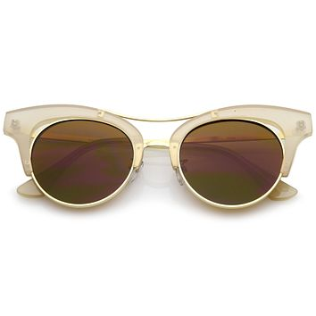 Women's 1950's Inspired Tear Drop Cat Eye Sunglasses A874