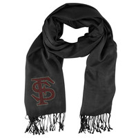 Florida State Seminoles NCAA Black Pashi Fan Scarf