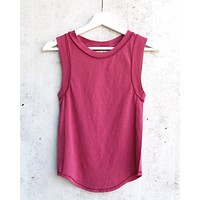 Free People - We The Free Go To Tank - Raspberry