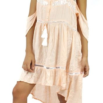Rural Charm Blush Dress