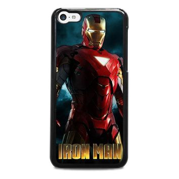 iron man 3 iphone 5c case cover  number 1