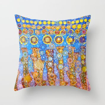 :: Indiana Corn Candy :: Throw Pillow by :: GaleStorm Artworks ::