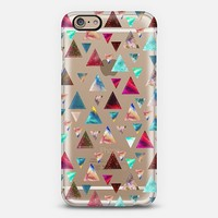 Multicolor Trianspace iPhone 6 case by Eleaxart | Casetify