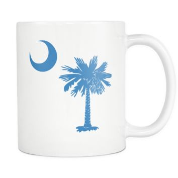 South Carolina Palmetto Moon BLUE