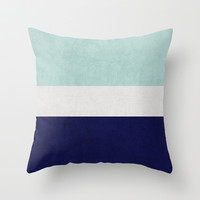 ocean classic Throw Pillow by Her Art