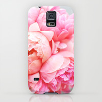 Peonies Forever Galaxy S5 Case by Ez Pudewa