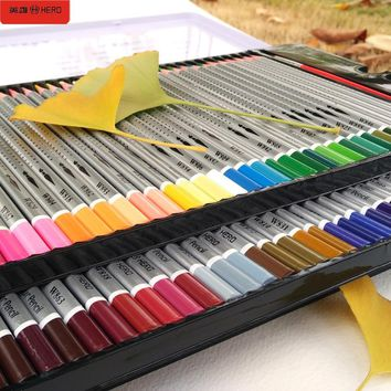 72 Colored Pencils Watercolor lapices de colores Profesionales 36/48/60/72 Coloured Pencils for Art School Supplies Stationery