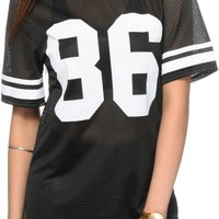 See You Monday 86 Mesh Football Jersey