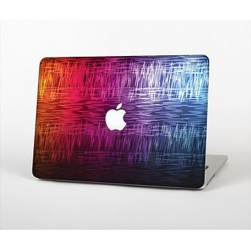 "The Vibrant Colored Lined Surface Skin Set for the Apple MacBook Pro 13"" with Retina Display"