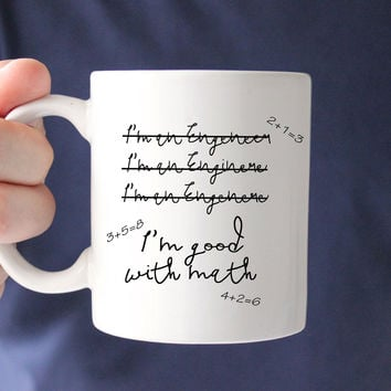 I'm an Engineer Coffee Mug, Engineer Gift, Gift for Husband