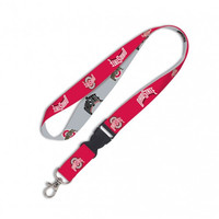 Ohio State Buckeyes Lanyard with Detachable Buckle