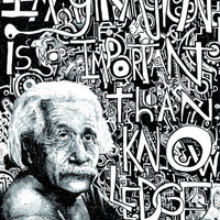 $20.00 Einstein. Art Print by Will Santino | Society6