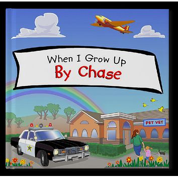 When I Grow Up Personalized Storybook - Soft Cover