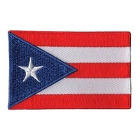 BACKPACKFLAGS flag patch Puerto Rico