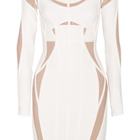 Hervé Léger - Angelique two-tone bandage dress