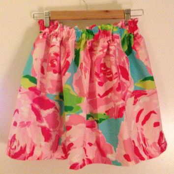 RESTOCKED Lilly Pulitzer First Impression Cissy Skirt Preppy Sorority