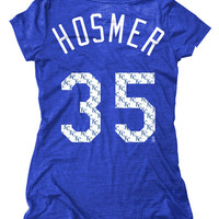 Eric Hosmer Kansas City Royals Womens Royal Repeat Player T-Shirt