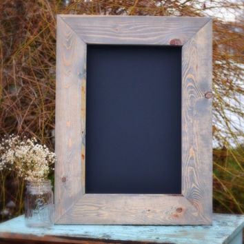 "Rustic Chalkboard 24x18"" SHIPS IN 3-5 DAYS!!!"