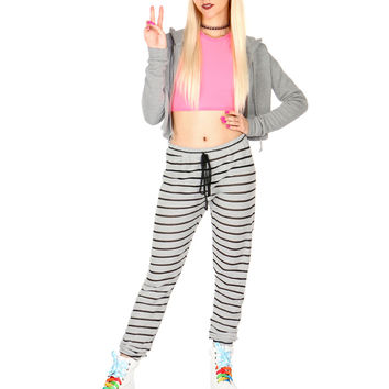 STRIPPED SWEATS