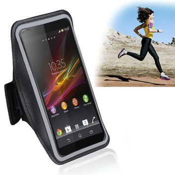 for LG Nexus5 G2 G3 Optimus G Pro G Flex D958 Armband Case Running Accessories Sport Cell Phone Arm Band Bracadeira Phone Holder