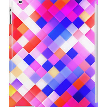 Abstract Geometric Square Pattern by sale