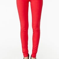 Metric Skinny Jeans - Red