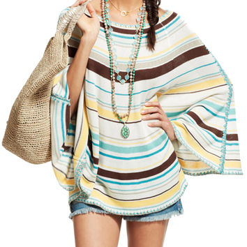 Plena Silk Striped Sweater